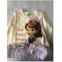 Pijama da Sofia - 3 anos - Disney