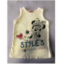 Camiseta Minnie - 24 a 36 meses - Disney