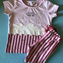 Pijama Pipoca - 2 anos - Renner