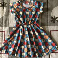 Vestidinho das Maçãs - 6 anos - Tricae