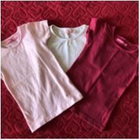 Lote camisetas - 3 anos - Fuzarka e Poim