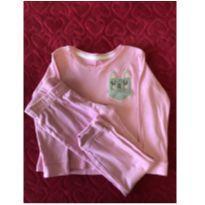 Pijama longo rosa - 3 anos - Accessories