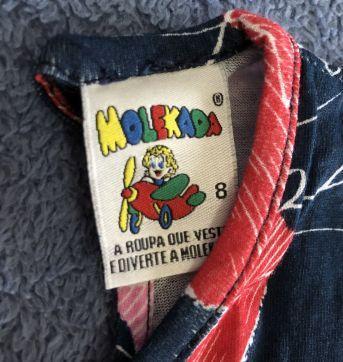 Lote macaquinhos - 4 anos - Molekada