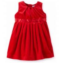 Vestido de festa Carter`s 12 meses - 9 a 12 meses - Carter`s