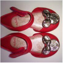 Sandália Minie vermelha - 18 - Grendene