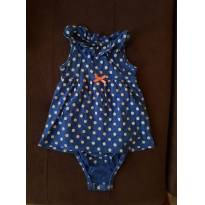 Body vestidinho carters - 18 meses - Carters - Sem etiqueta