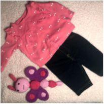 Conjuntinho de calça e casaquinho Carter's - 3 meses - Carter`s