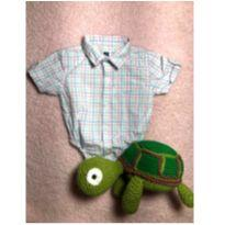 Camisa body Jannie and Jack - 3 a 6 meses - JANNIE AND JACK (IMPORTADO)