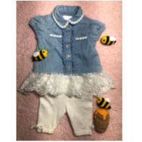 Conjuntinho importado - Nannette baby - 3 a 6 meses - Nannette Baby - USA