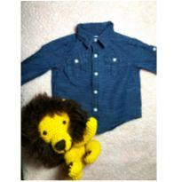 Camisa Jannie and Jack - 3 a 6 meses - JANNIE AND JACK (IMPORTADO)