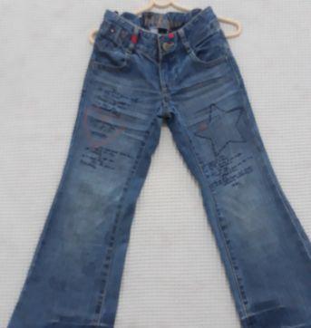 Calça  Jeans Tommy  Hilfiger . Tamanho 4 - 4 anos - Tommy Hilfiger