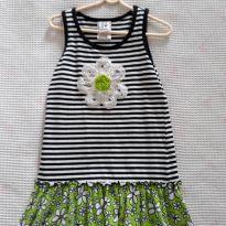 Vestido florzinha Gril Friends - 5 anos - Marca não registrada