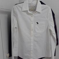 Camisa Branca - Abercrombie - 6 anos - Abercrombie
