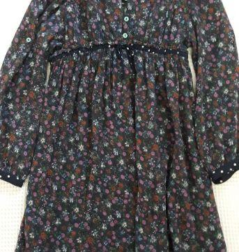 Vestido / Bata  FLorido  Zara Kids  - T. 4-5 - 4 anos - Zara