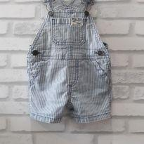 Jardineira Jeans Carters - T. 3M