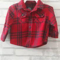 Camisa xadrez Bebê  - T. 0/3 meses - Mini Rebel - 0 a 3 meses - Rebel