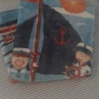 Cobertor bebe  Marinheiro Azul - Jolitex Ternille -  - jolitex