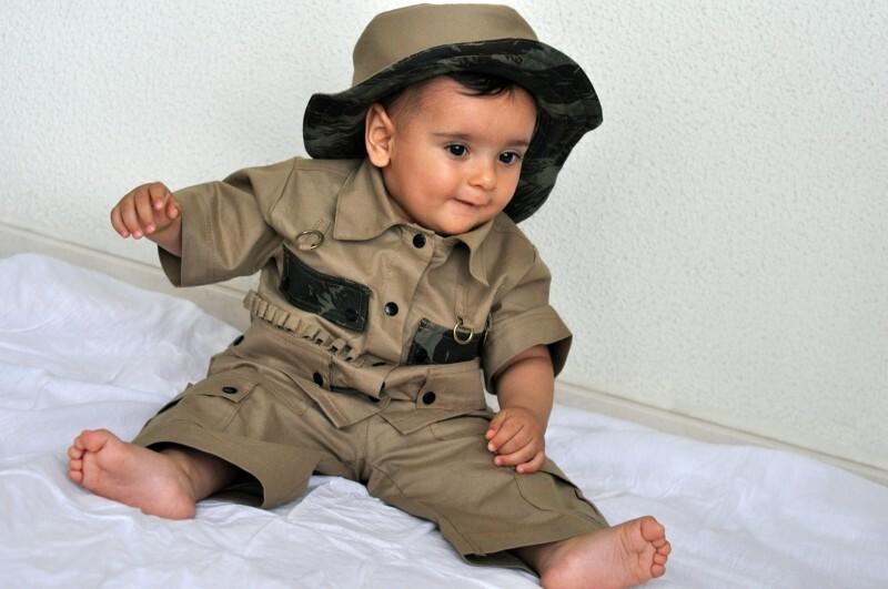 4a5789243 Fantasia do Safari, para meninos de 1 ano que se chamam LUCAS 1 ano ...