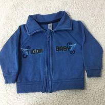 Blusa de moletom - 6 a 9 meses - Tigor Baby