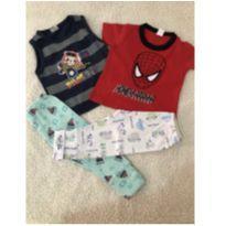 Lote de bebê menino (691) - 0 a 3 meses - Variadas