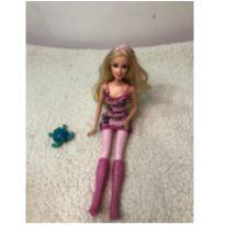Boneca Barbie mosqueteira -  - Mattel