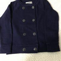 Blusa de moletom com botões - 4 anos - OshKosh