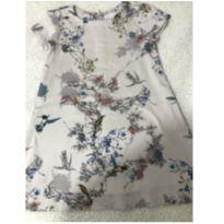 Vestido florido zara (861) - 4 anos - Zara