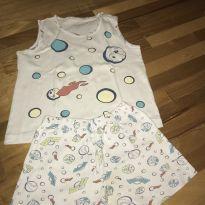 Conjunto Pijama Regata - 2 anos - Dedeka
