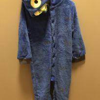 Pijama macacão Mostro - 4 anos - Tip Top