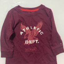 Blusa tommy 12 meses nunca usada - 1 ano - Tommy Hilfiger