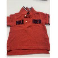Blusa polo Tommy 6-9 meses - 6 a 9 meses - Tommy Hilfiger