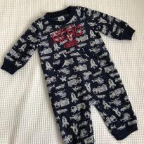 Macacão Fleece Child of Mine (Carter`s) - 0-3m - 0 a 3 meses - Child of Mine e Carter`s