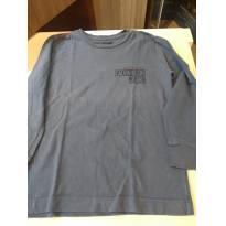 Camiseta calvin klein Manga Longa - 4 anos - Calvin Klein