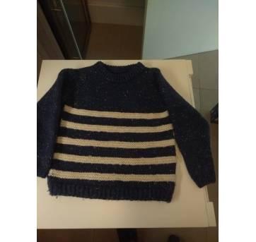 Blusão lá Tricotado pela Vovó - 4 anos - Artesanal
