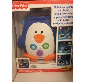 Projetor Pinguim Fisher Price - Sem faixa etaria - Fisher Price