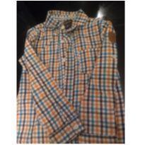 Camisa xadrez - 4 anos - Tigor T.  Tigre