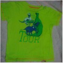 Camisa dinossauros - 6 anos - Não informada