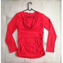 Blusa Vermelha Gestante - Tamanho P - Único - Menina & Meninas