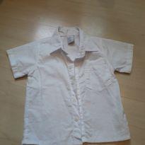 Camisa social branca - 12 a 18 meses - Sylvaz