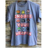 Camiseta Mario Bros. - 12 anos - Nintendo