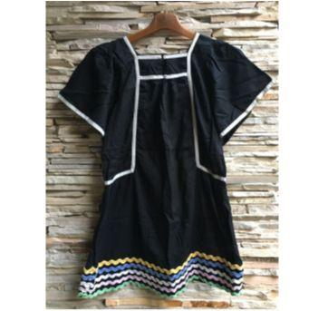 vestido cianinha fábula - 8 anos - Fábula
