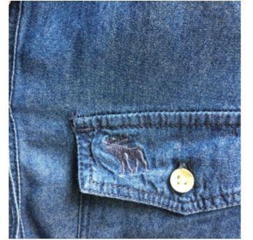vestido jeans - 12 anos - Abercrombie