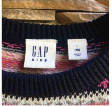 Casaco Lã GAP - 10 anos - GAP
