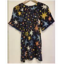Vestido estrelas fabula - 8 anos - Fábula