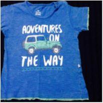 camiseta menino estampa carro - 3 anos - Hering Kids