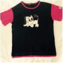 camiseta estampa dalmatas - 14 anos - Sem marca