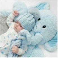 gorro de bebe em trico - 0 a 3 meses - Sem marca