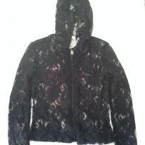 jaqueta  em renda preta - 12 anos - Sem marca