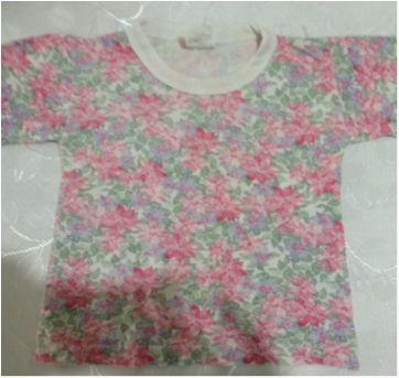 camiseta estampa flores - 3 anos - Mafessoni