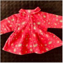 lote 04  casaco  de moleton menina tam p + - 3 a 6 meses - Varias e Baby Sol